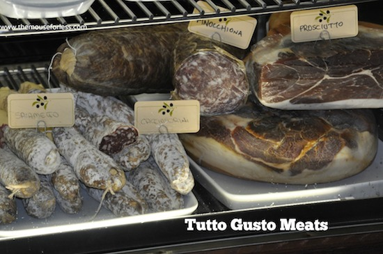 Meat Selections from Tutto Italia Menu at Epcot's World Showcase in Italy #DisneyDining #Epcot