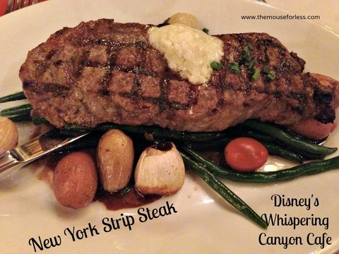 Whispering Canyon Dinner Menu - Wilderness Lodge #DisneyWorld