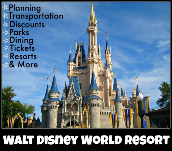 Walt Disney World Resort Vacation Information