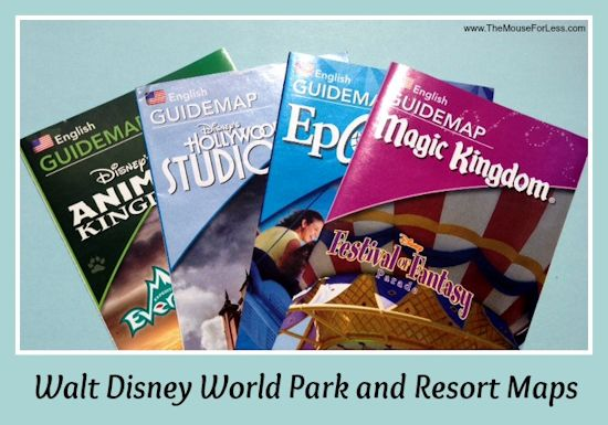 Walt Disney World Maps Parks And Resorts