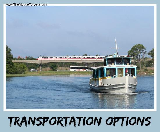 Transportation Options to Walt Disney World