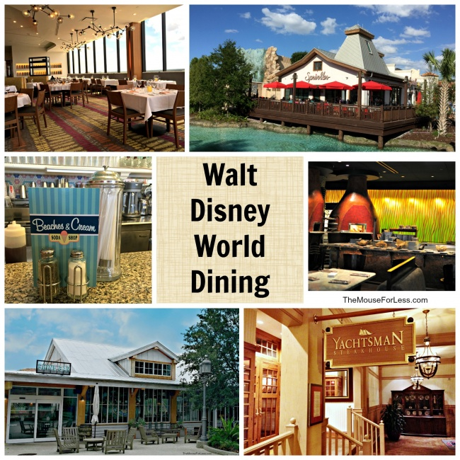 Walt Disney World Dining Information