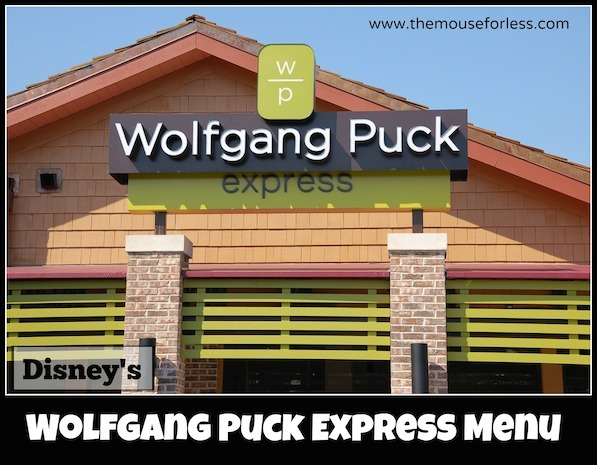 Wolfgang Puck Express at Disney Springs Marketplace #DisneyDining #DisneySprings