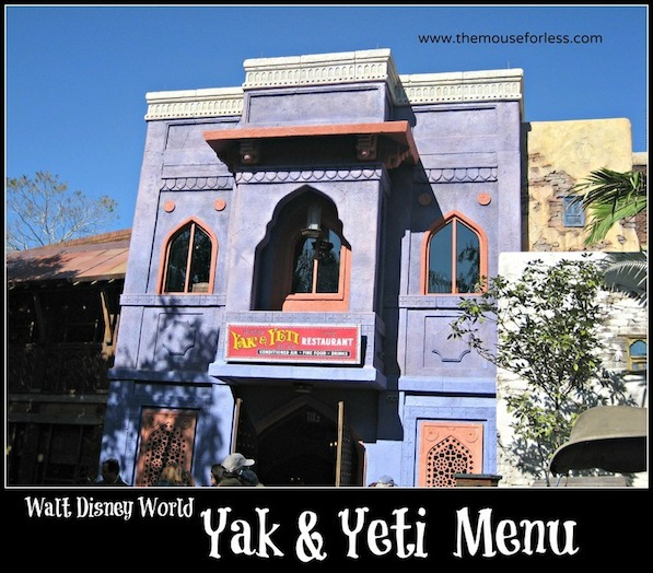 Yak and Yeti Restaurant at Epcot #DisneyDining #Animal Kingdom