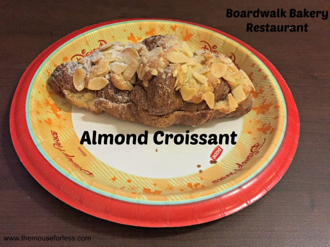 Boardwalk Bakery almond croissant