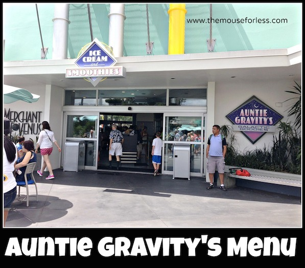 Auntie Gravity's Galatic Goodies at the Magic Kingdom #DisneyDining #MagicKingdom