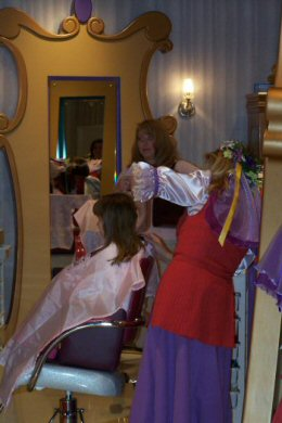 BBB Hair Styling | Bibbidy Bobbidy Boutique | Bibbidi Bobbidi Boutique