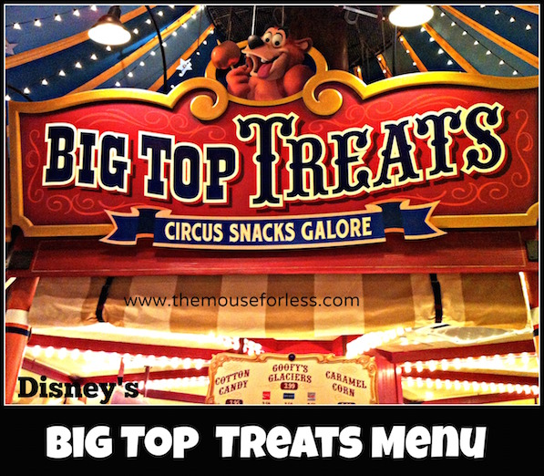 Big Top Treats at Magic Kingdom #DisneyDining #MagicKingdom