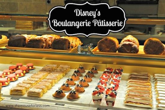 Boulangerie Patisserie Menu Epcot at Walt Disney World