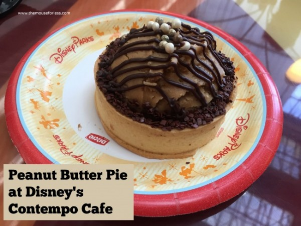 contempo Cafe peanut butter pie