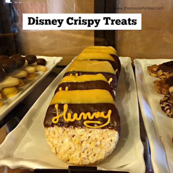 Crispy Treat at Big Top Treats at Magic Kingdom #DisneyDining #MagicKingdom