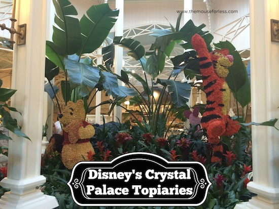 Crystal Palace at Magic Kingdom #DisneyDining #MagicKingdom