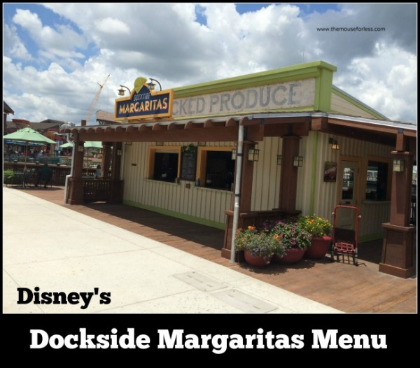 dockside margaritas #DisneyDining #DisneySprings