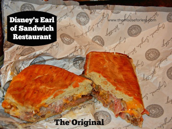 Earl of Sandwich at Downtown Disney Marketplace #DisneyDining #DowntownDisney