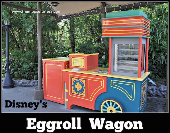 Adventureland Eggroll Wagon Menu at Magic Kingdom #DisneyDining #MagicKingdom