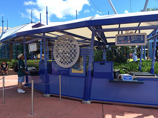 Snack Cart in Future World