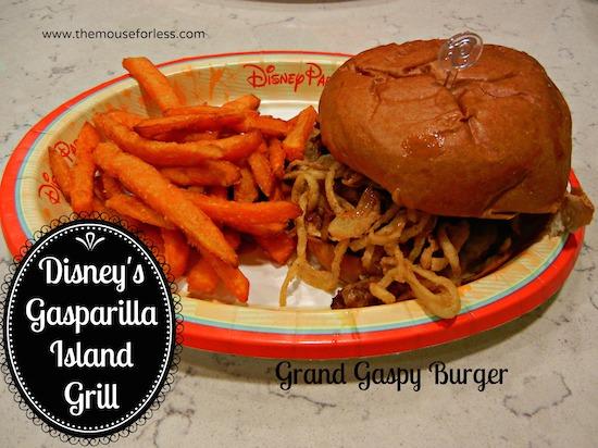 Gasparilla Island Grill menu at Disney's Grand Floridian Resort #DisneyDining #GrandFloridian