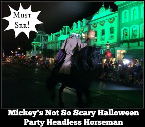 Headless Horseman - Mickey's Not-So-Scary Halloween Party