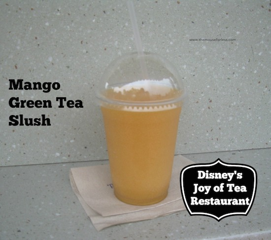 Joy of Tea Menu at Epcot #DisneyDining #Epcot