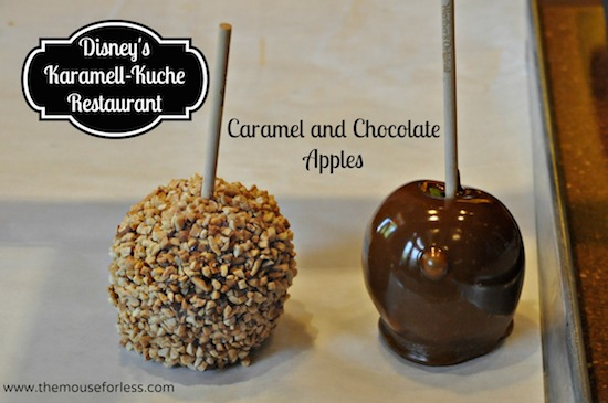 Karamelle-Kuche Menu at Epcot World Showcase #DisneyDining #Epcot