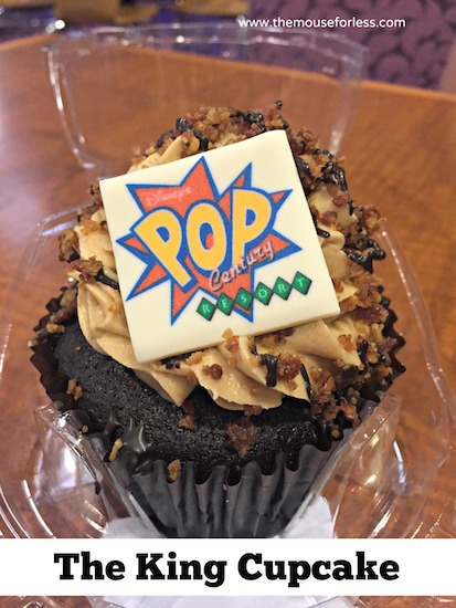 Pop King Cupcake at Everything Pop - Pop Century Food Court Menu #DisneyWorld #PopCentury