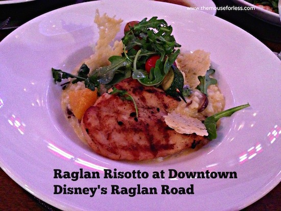 Raglan Risotto at Raglan Road at Disney Springs The Landing #DisneyDining #DisneySprings