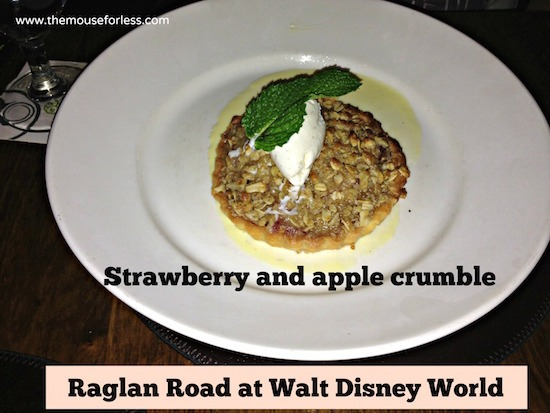Apple Crumble at Raglan Road Sunday Brunch at Disney Springs The Landing #DisneyDining #DisneySprings
