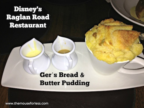 Ger's Bread & Butter Pudding at Ragland Road Sunday Brunch at Disney Springs The Landing #DisneyDining #DisneySprings