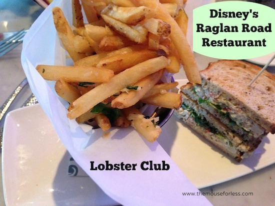 Lobster Club at Raglan Road Sunday Brunch at Disney Springs The Landing #DisneyDining #DisneySprings