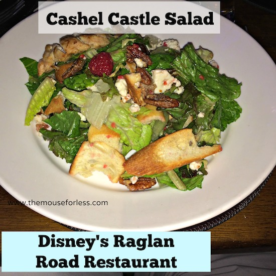 Cashel Castle Salad at Ragland Road Brunch at Disney Springs The Landing #DisneyDining #DisneySprings