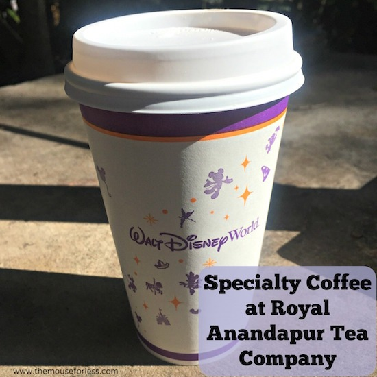 Royal Anandapur Tea Company Menu at Disney's Animal Kingdom #DisneyDining #AnimalKingdom