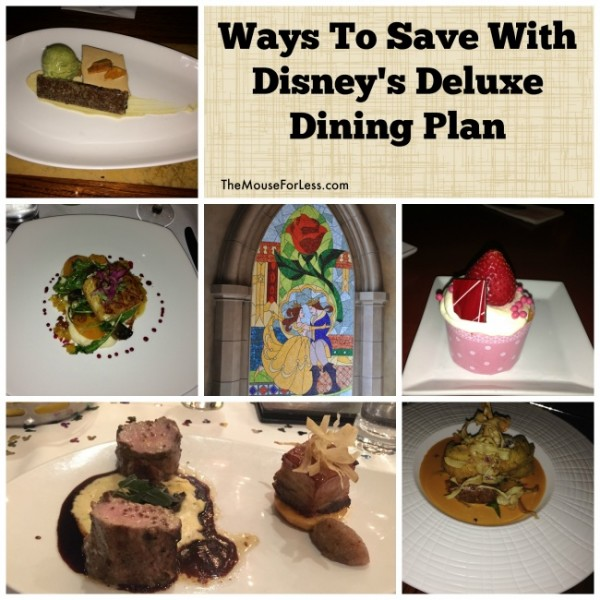 save disney's deluxe dining plan