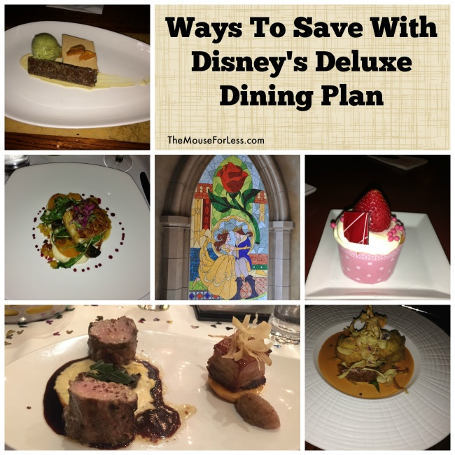 Magic Your Way Deluxe Dining Plan Guide Walt Disney World