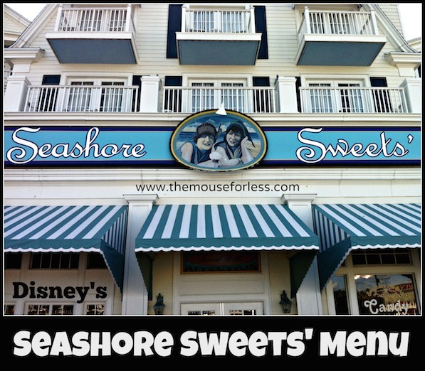 Seashore Sweets at Disney's BoardWalk Resort #DisneyDining #BoardwalkResort