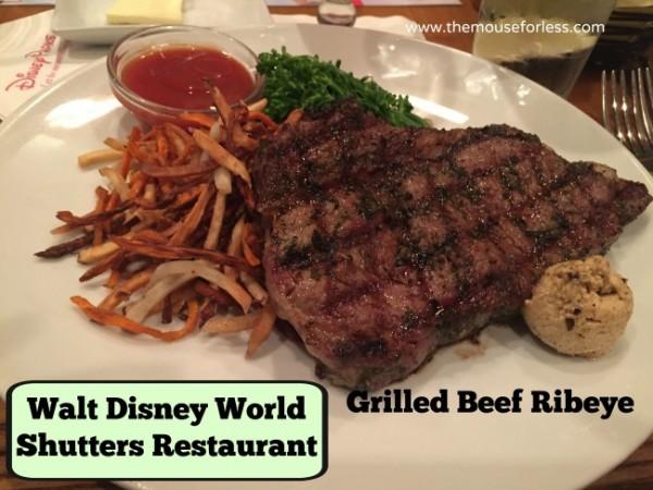 Disney Shutters Ribeye at Caribbean Beach Resort