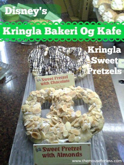 Sweet Pretzel at Kringla Bakeri Og Kafe Menu - Table Service Restaurant at Epcot #DisneyDining #WaltDisneyWorld