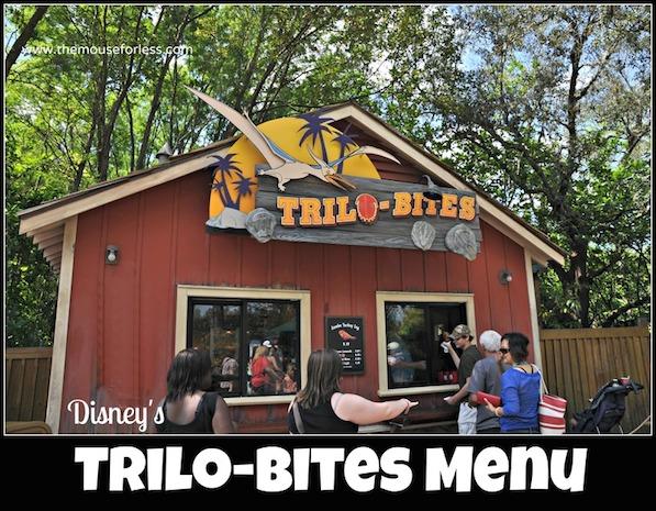 Trilo Bites Menu Disney S Animal Kingdom At Walt Disney World