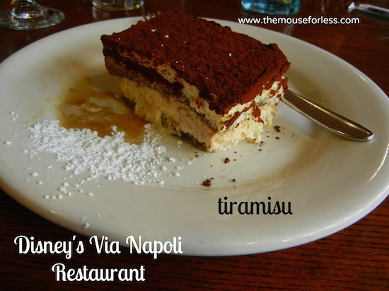 Via Napoli Menu at Epcot's World Showcase #DisneyDining #Epcot