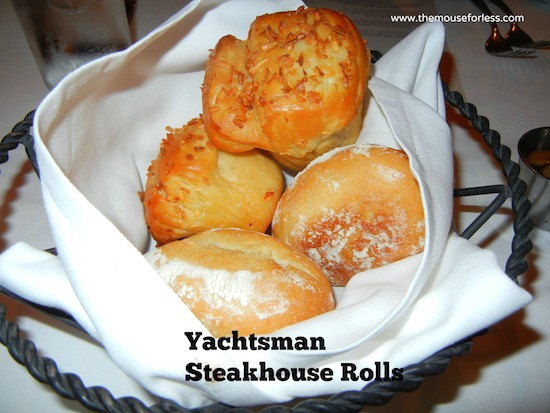 Dinner Rolls from Yachtsman Steakhouse at Disney's Yacht Club Resort #DisneyDining #YachtClub