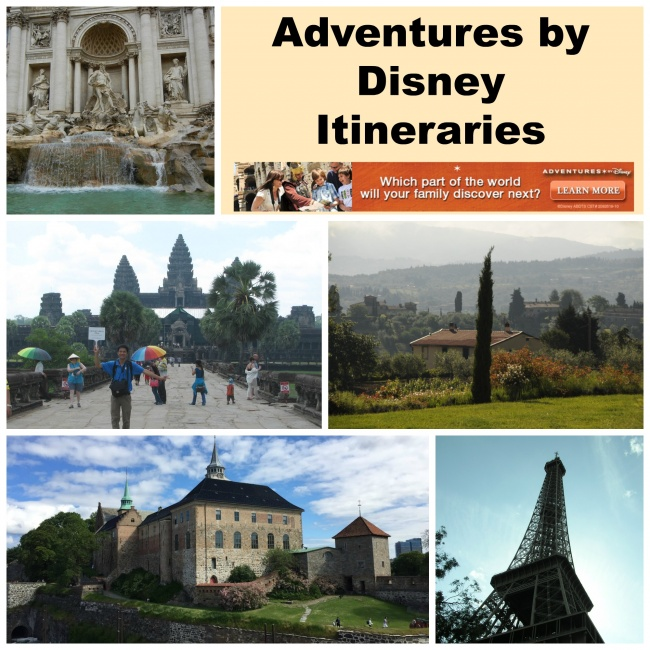 Adventures by Disney Itineraries
