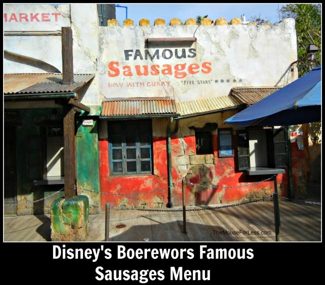 Boerewors Famous Sausages
