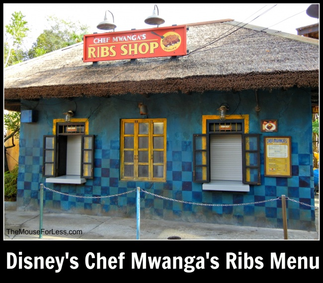 Chef Mwangas Menu