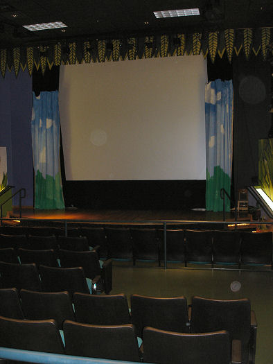 Give Kids the World Village Photo movie theatre