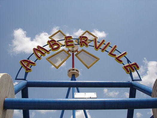 Give Kids The World Village Photo Amberville Sign