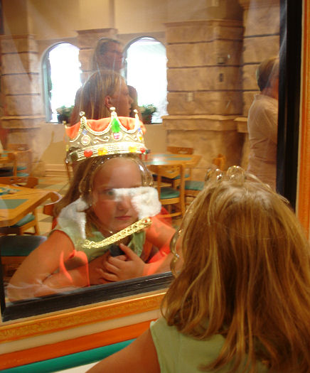 Give Kids The World Village Photo Grand Hall Magical Mirror