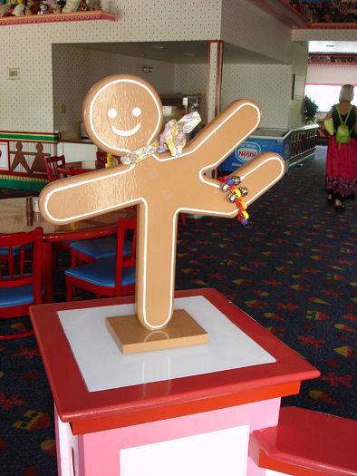 Give Kids The World Village Photo Gingerbread Mascot