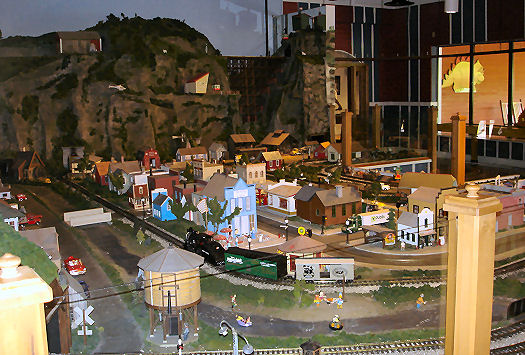 model city and railroad