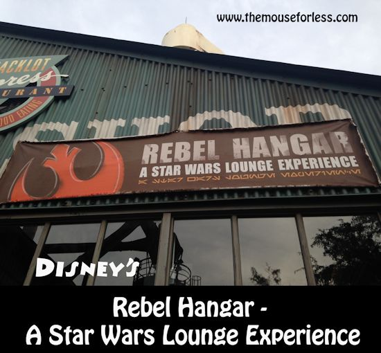 Rebel Hangar Menu