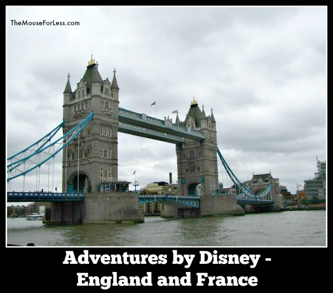 Adventures by Disney England and France