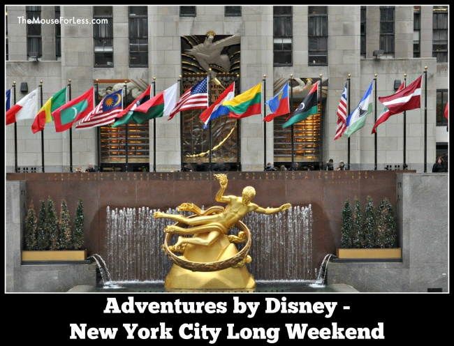 Adventures by Disney New York City Long Weekend